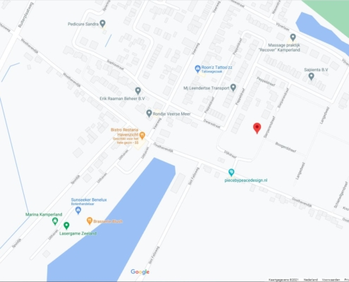 Kameleonwoningen - Google Maps Locatie Kamperland